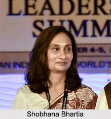 Shobhana Bhartia, Indian Business Woman