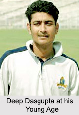 Deep Dasgupta, West Bengal Cricket Player
