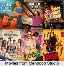 Mehboob Studio, Indian Production Houses