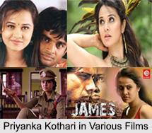 Priyanka Kothari, Indian Movie Actress