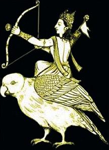 Kameri, Indian Cuckoo - Vahana of Kama Deva