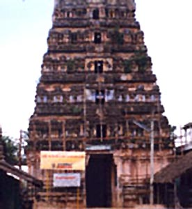 Agniswara temple in Thanjavur District, Tamil Nadu