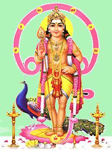 Kartikeya, Hindu God Of War