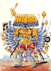 Lanka king Ravana