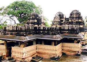 Architecture in Western Chalukya Dynasty - The Kedareswara Temple (1060) at Balligavi