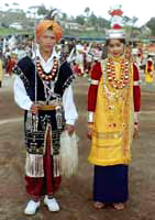 The Khasis Traditional Dress