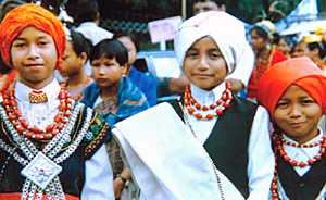 Physical features and variation of Khasi Tribe