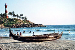 Kovalam - Light house beach