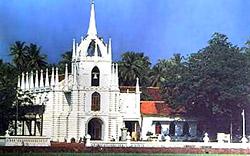The Church of Mae de Deus at Saligao (Bardez)