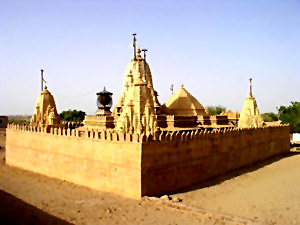 Jain Temples in Lodurva, Rajasthan