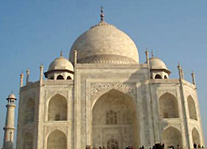 Main tomb Sculpture of Taj Mahal