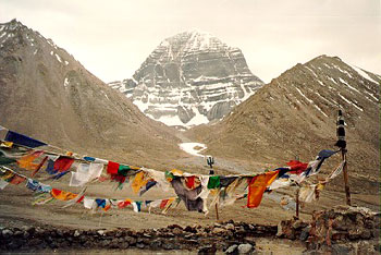 Mount Kailash, the origin of Brahmaputra River