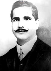 Great poet sir Muhammad Iqbal