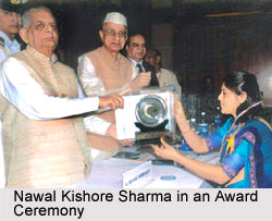 Nawal Kishore Sharma in an Award Ceremony
