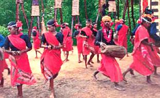 Tribal Costumes of Madhya Pradesh