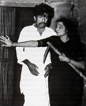 Neelu Phule with Kusum Kulkarni
