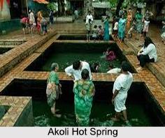 Akoli Hot Spring, Thane District, Maharashtra