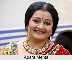 Apara Mehta, Indian TV Actress