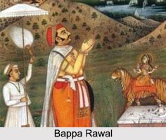Bappa Rawal, Ruler of Mewar