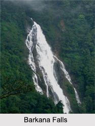 Barkana Falls, Shimoga District, Karnataka