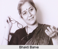 Bhakti Barve, Indian Theatre Actress