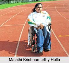 Malathi Krishnamurthy Holla, Indian Para Athlete