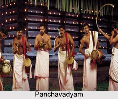 Panchavadyam, Music of Kerala