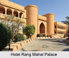 Rang Mahal Palace, Jaisalmer, Rajasthan