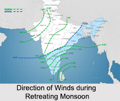 Retreating Monsoon, Indian Climate