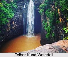 Telhar Kund Waterfall, Kaimur