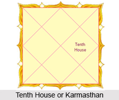 Tenth House or Karmasthan, Horoscope