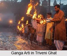 Triveni Ghat, Rishikesh, Uttarakhand