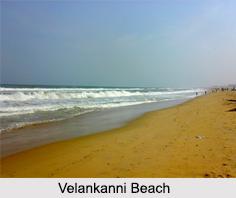 Velankanni Beach, Nagapattinam District, Tamil Nadu