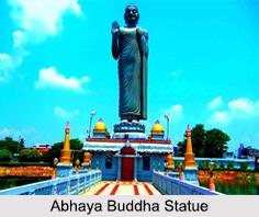 Abhaya Buddha Statue, Andhra Pradesh