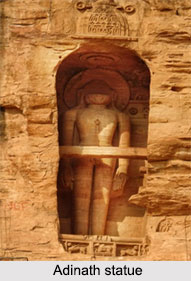 Adinath Statue, Gopachal Parvat, Madhya Pradesh