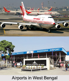 Airports in West Bengal, Indian Airports