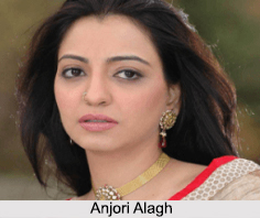 Anjori Alagh, Indian Actress