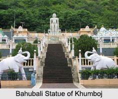 Bahubali Statue of Khumboj, Maharashtra