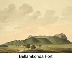 Bellamkonda Fort, Guntur District, Andhra Pradesh