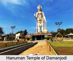Hanuman Statue of Damanjodi, Odisha