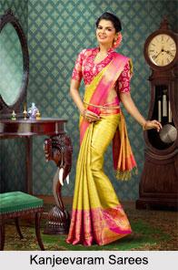 Kanjeevaram Sarees, Indian Saree
