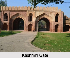 Kashmiri Gate, New Delhi