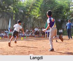 Langdi, Indian Traditional Game