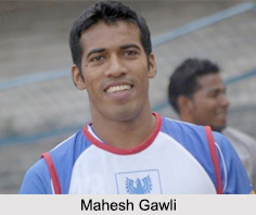 Mahesh Gawli, Indian Football Player