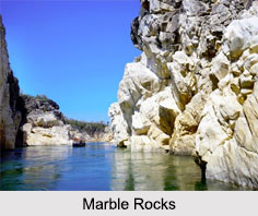 Marble Rocks, Jabalpur District, Madhya Pradesh