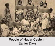 Nadar Caste, Indian Communities
