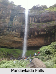Pandavkada Falls, Kharghar, Maharashtra
