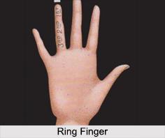 Ring Finger, Palmistry