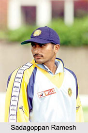 Sadagoppan Ramesh, Indian Cricket Player