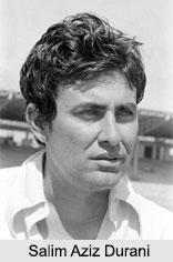 Salim Aziz Durani, Indian Cricket Player